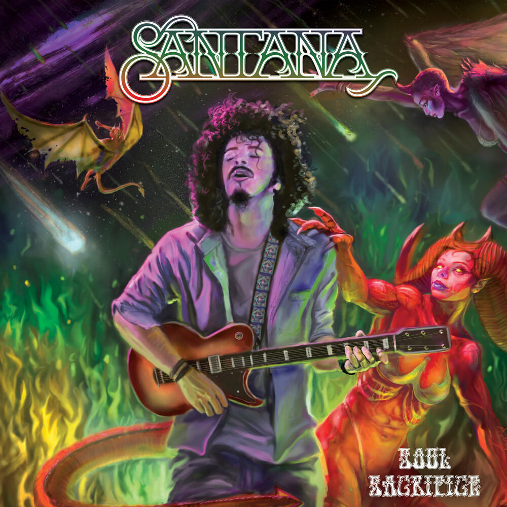 Santana - Soul Sacrifice [Colored Vinyl]