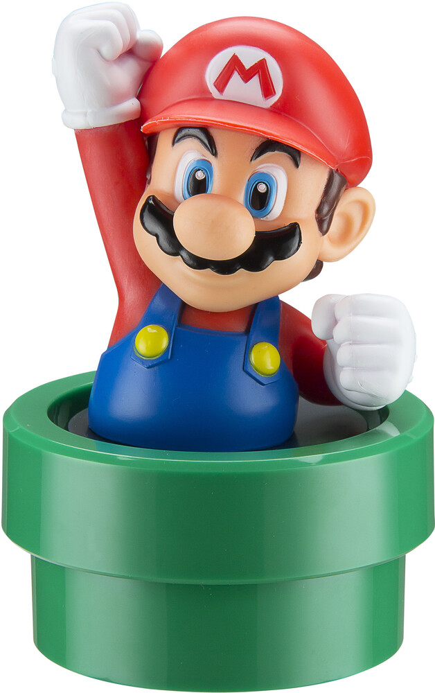Super Mario Ti-B66Mr.Ex0I Mario Bt Speaker - Super Mario TI-B66MR.EX0I Mario Bluetooth Wireless Speaker Rechargable