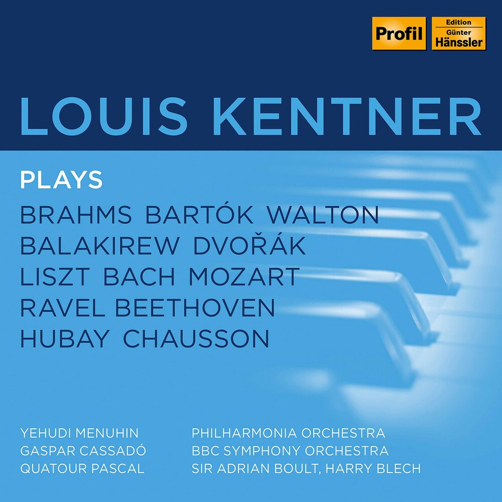LOUIS KENTNER - Louis Kentner Plays