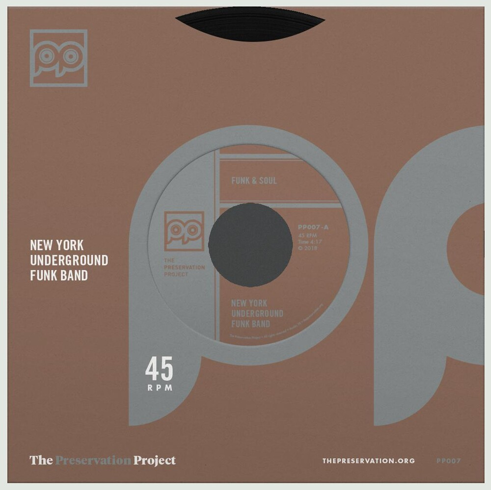 New York Underground Funk Band - Funk & Soul / Wanna Be Free