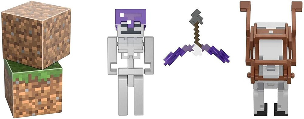 Minecraft - Mattel Collectible - Minecraft Skeleton Trap Horse