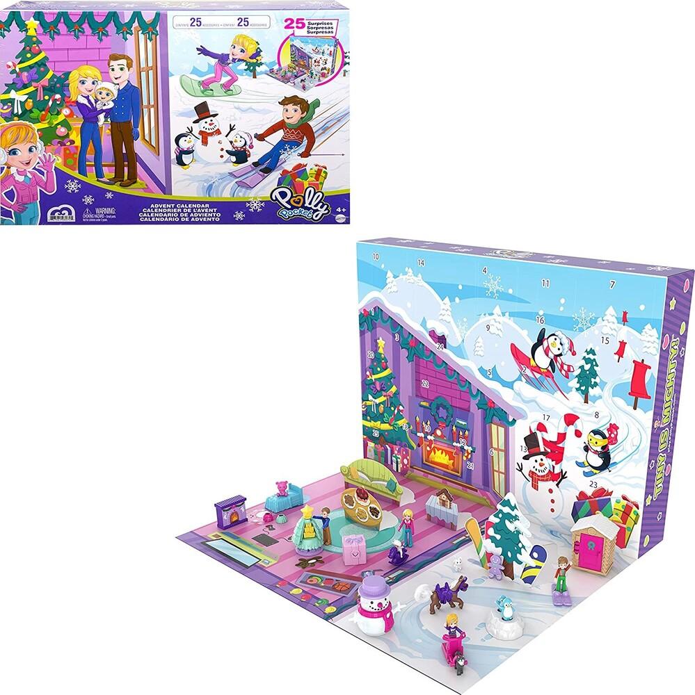 Polly Pocket - Mattel - Polly Pocket Holiday Advent Calendar, 2021
