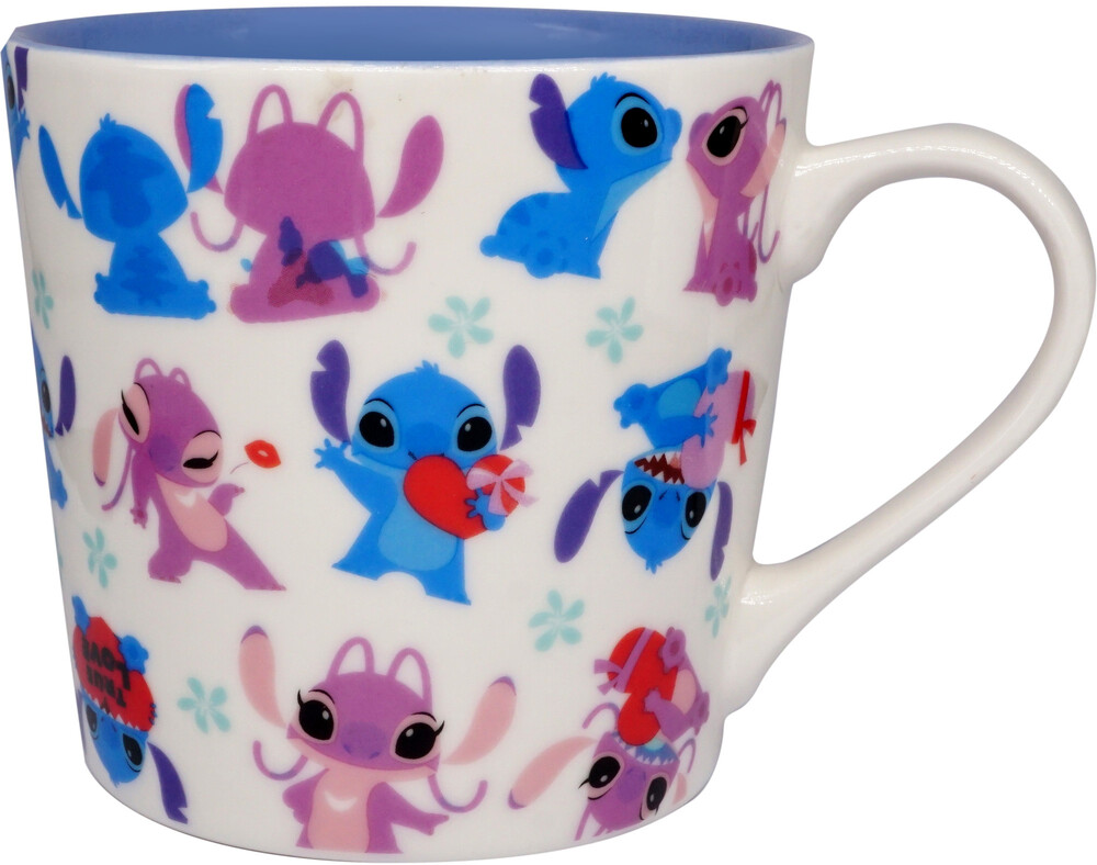 - Disney Stitch & Angel True Love Mug (15 Oz) (Mug)