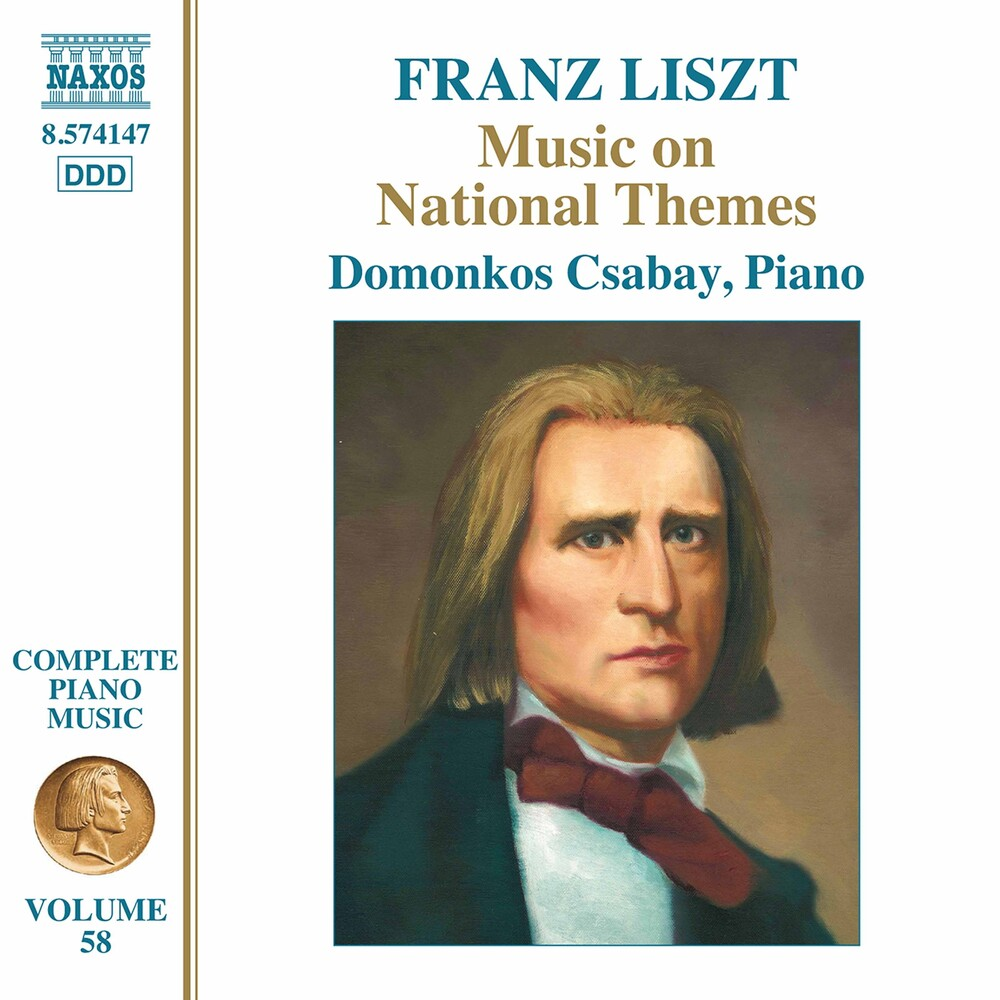 Liszt / Csabay - Music On National Themes