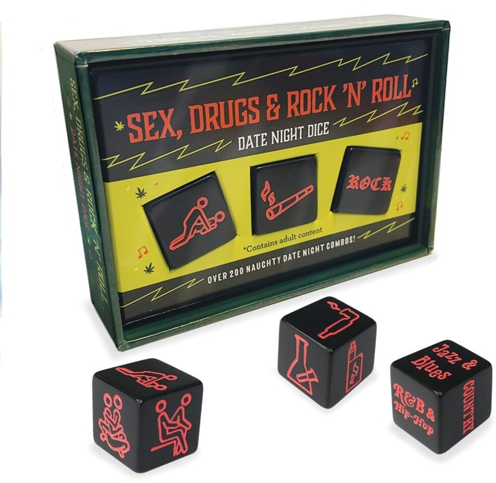 - Sex Drugs & Rock N Roll Date Night Dice (Dice)