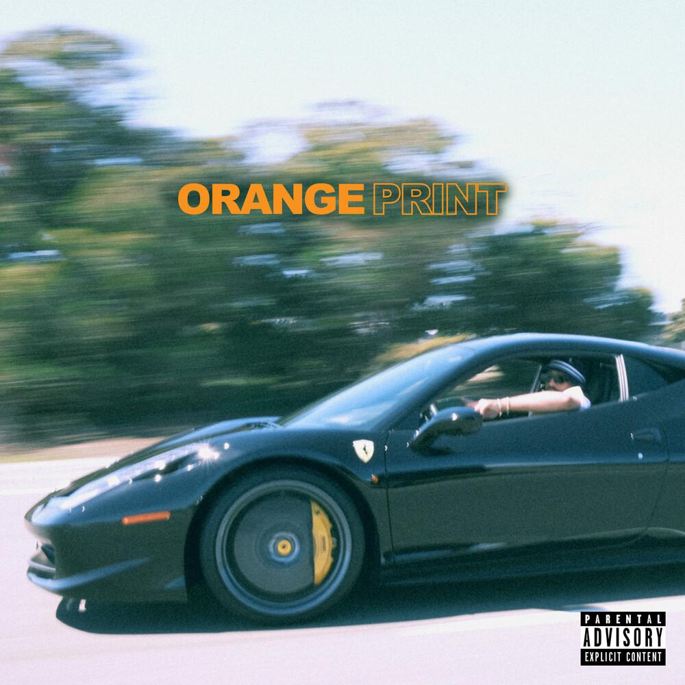 Larry June - Orange Print (Transparent Orange Vinyl) [Colored Vinyl]