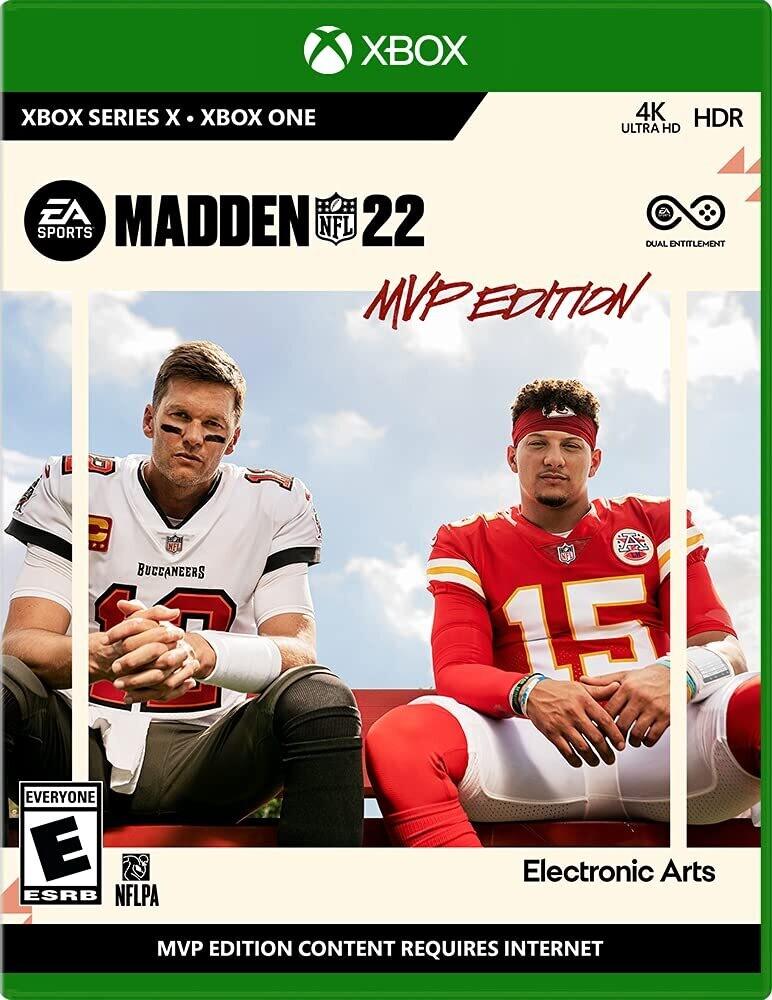 Xb1 Madden NFL 22 Mvp Preorder Ed - Xb1 Madden Nfl 22 Mvp Preorder Ed
