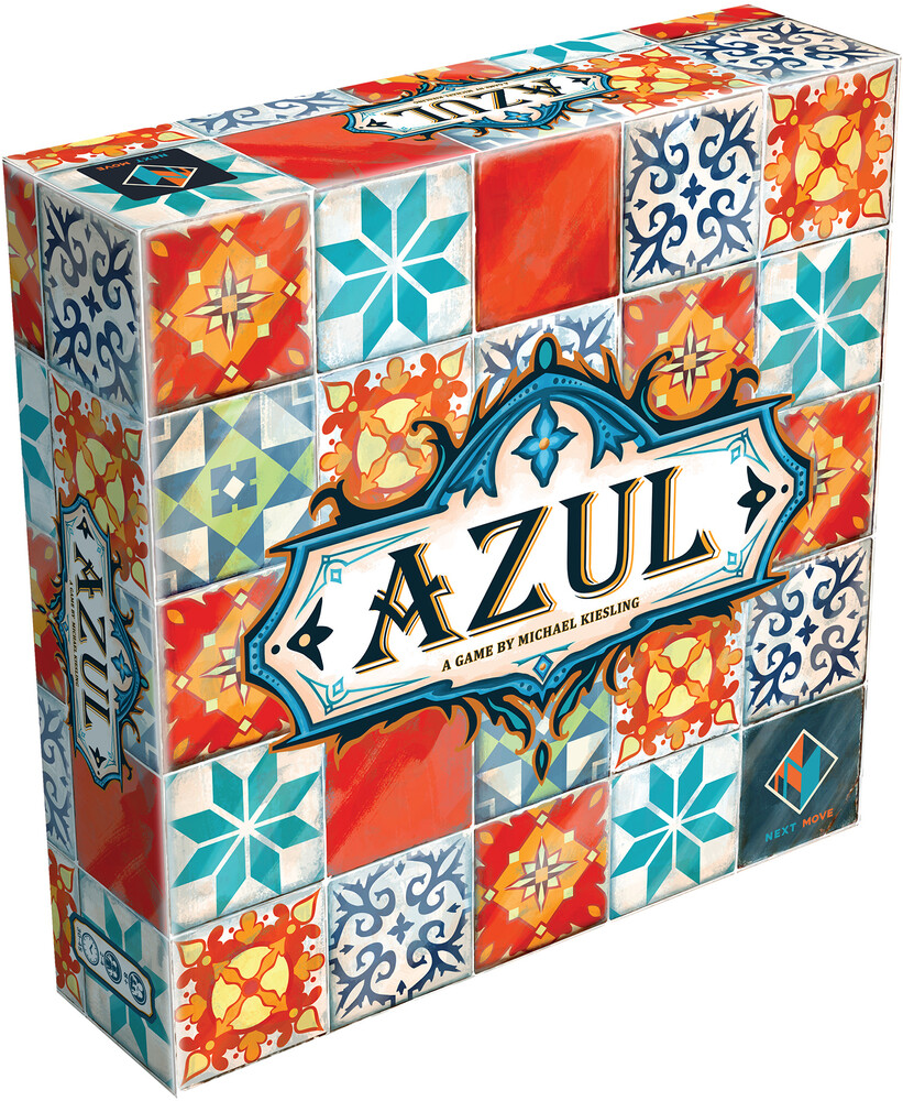 - Azul Game By Michael Riesling (Wbdg)