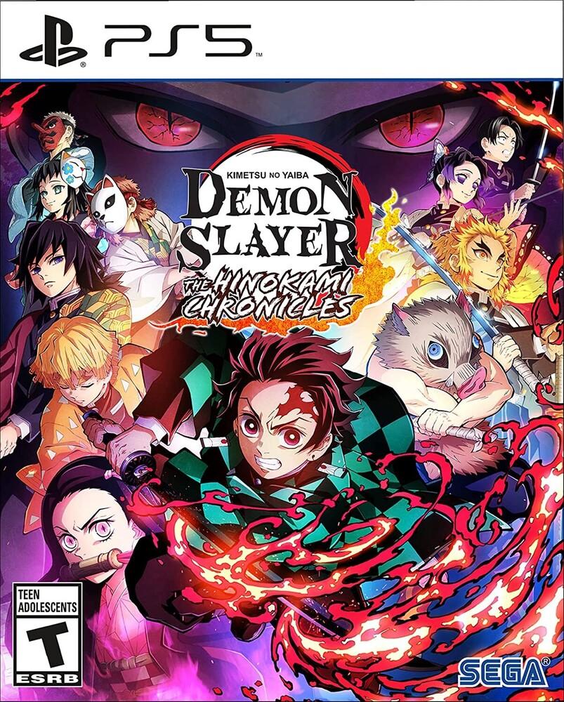 Ps5 Demon Slayer - Kimetsu No Yaiba - Hinokami - Demon Slayer - Kimetsu no Yaiba - The Hinokami Chronicles for PlayStation 5