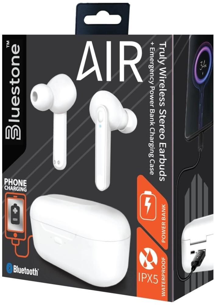 Bluestone Tws13Bk Air Tw Earbuds with Power Cs Blk - Bluestone Tws13bk Air Tw Earbuds With Power Cs Blk