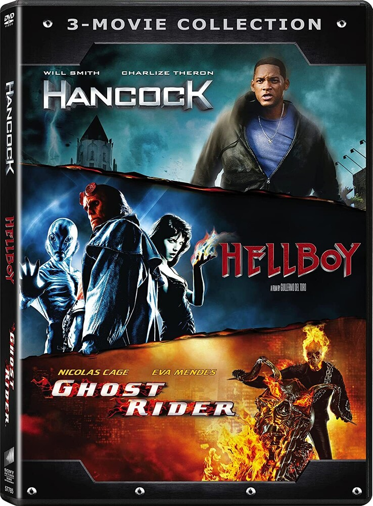 Ghost Rider (2007) / Hancock / Hellboy (2004) - Ghost Rider (2007) / Hancock / Hellboy (2004)