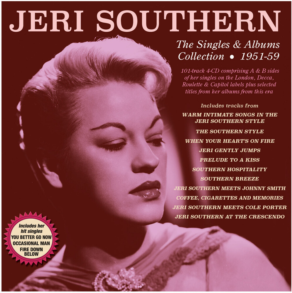 Jeri Southern - The Singles & Albums Collection 1951-59