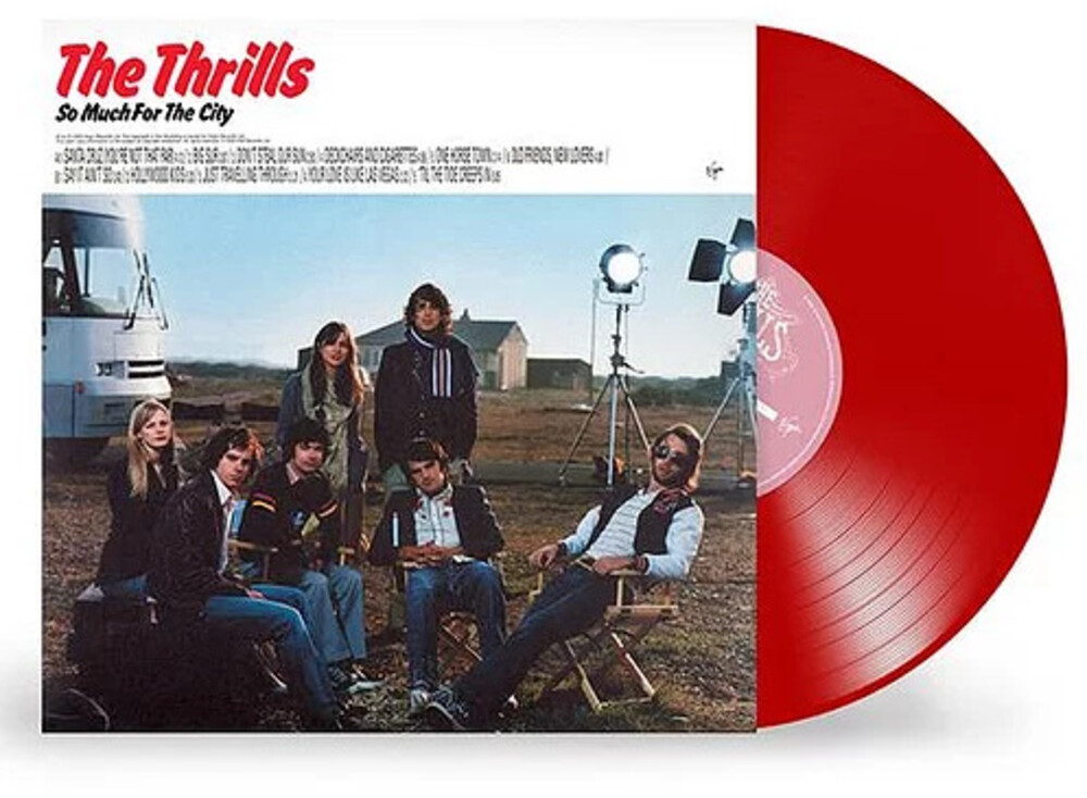 - So Much For The City [Limited Red Colored Vinyl]
