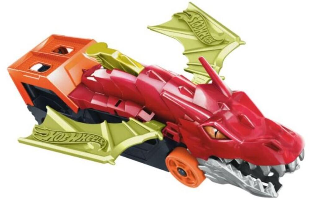 Hot Wheels - Hw Dragon Launch Transporter Playset (Tcar)