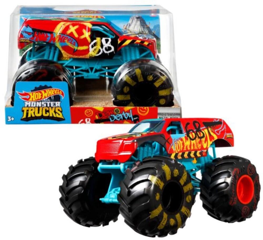Hot Wheels Monster Truck - Hw Monster Truck 1:24 Demo Derby (Tcar)