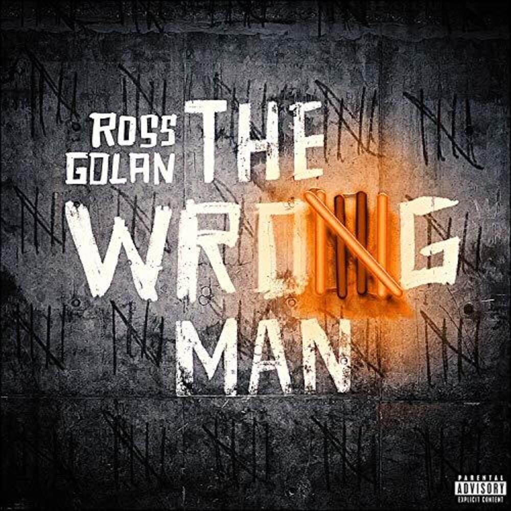 Ross Golan - The Wrong Man [Translucent Orange 2LP]