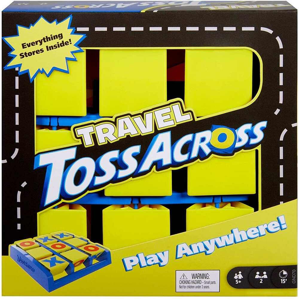 Games - Mattel Games - Travel Toss Across