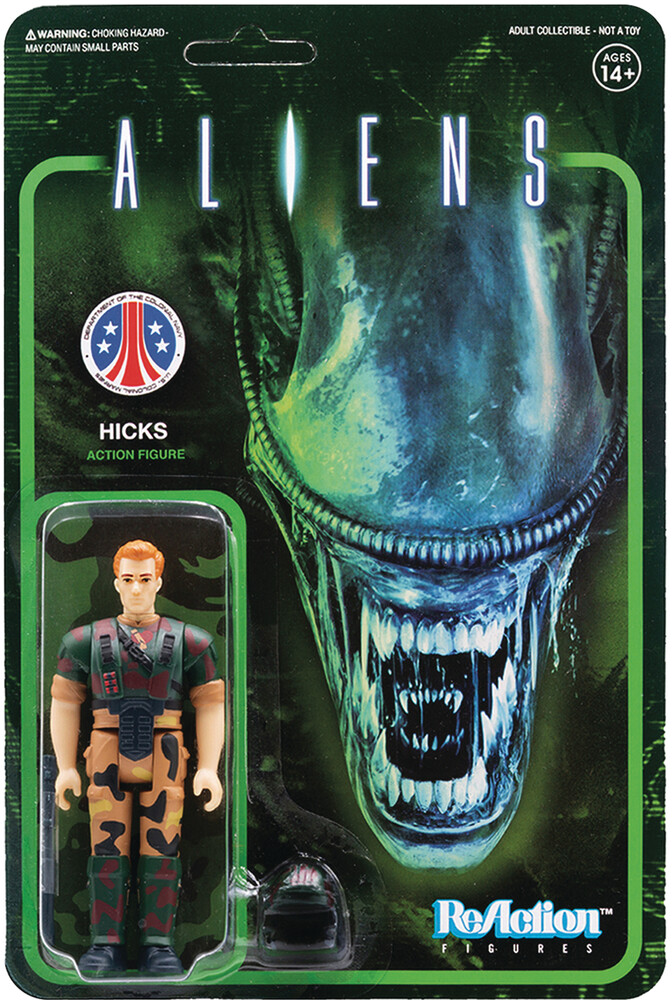 Aliens Reaction Figure - Hicks - Aliens ReAction Figure - Hicks