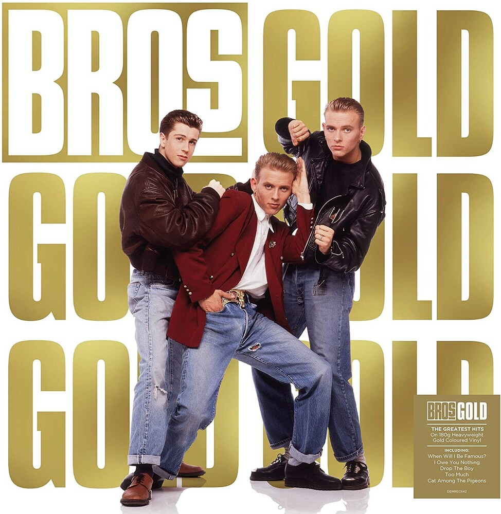Bros - Gold [Limited Gold Colored Vinyl]