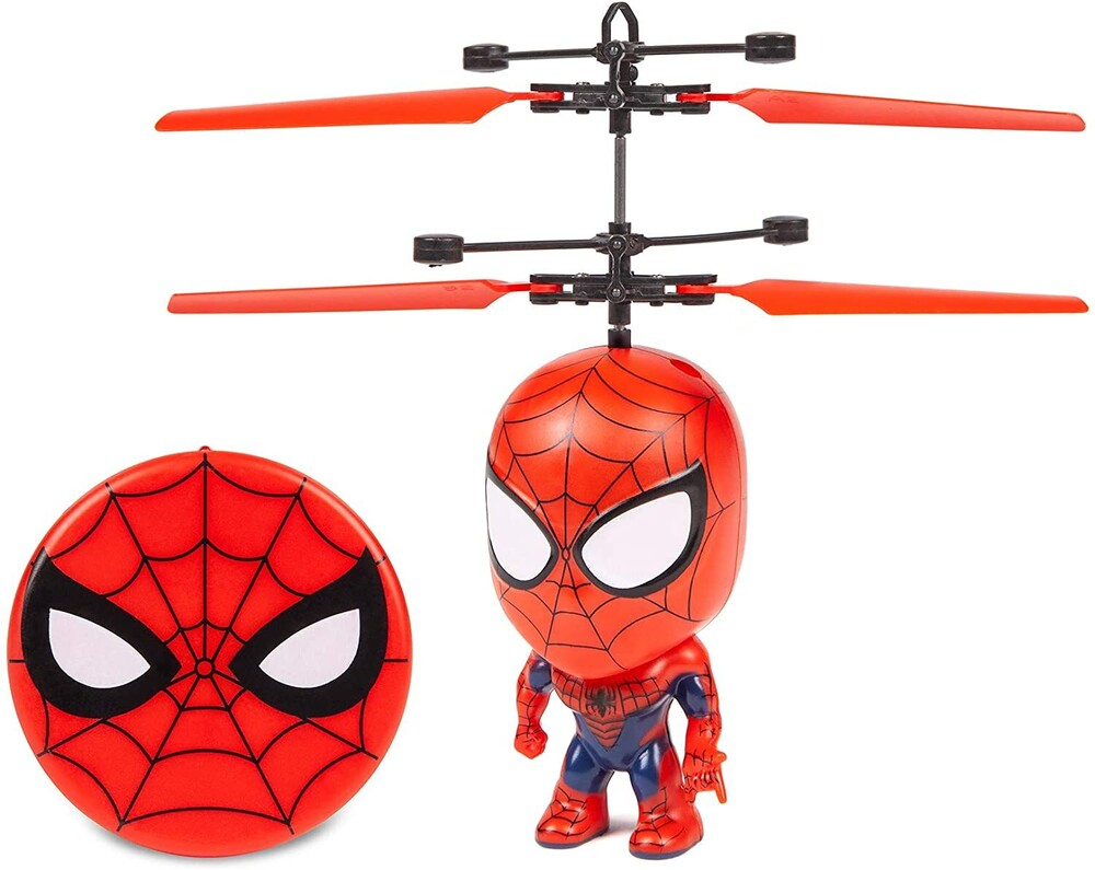 Flying Figure - Marvel 3.5 Inch: Spider-Man Flying Figure IR Helicopter (Marvel, Spider-Man)