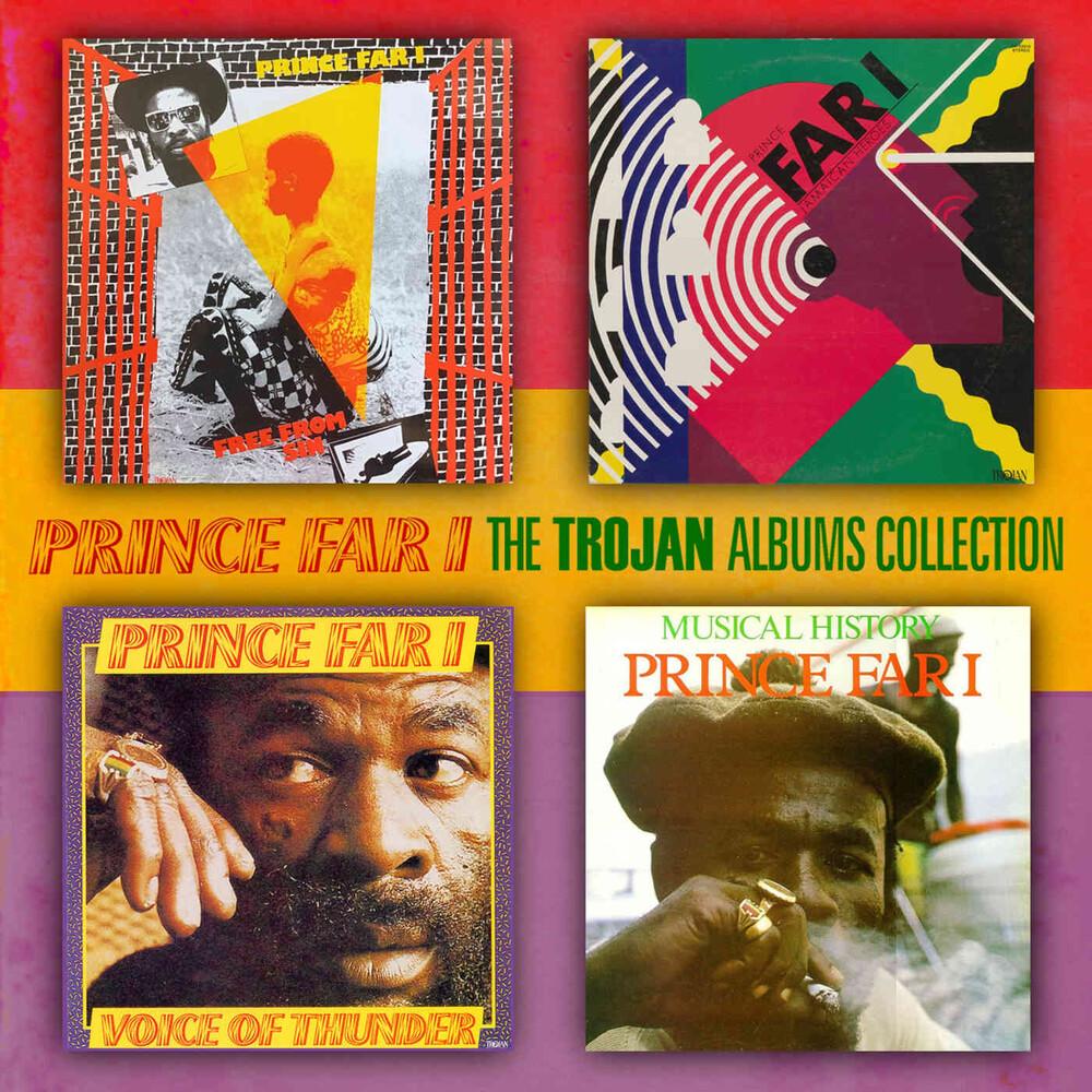 Prince Far I - Trojan Albums Collection: Four Original Albums Plus Bonus Track