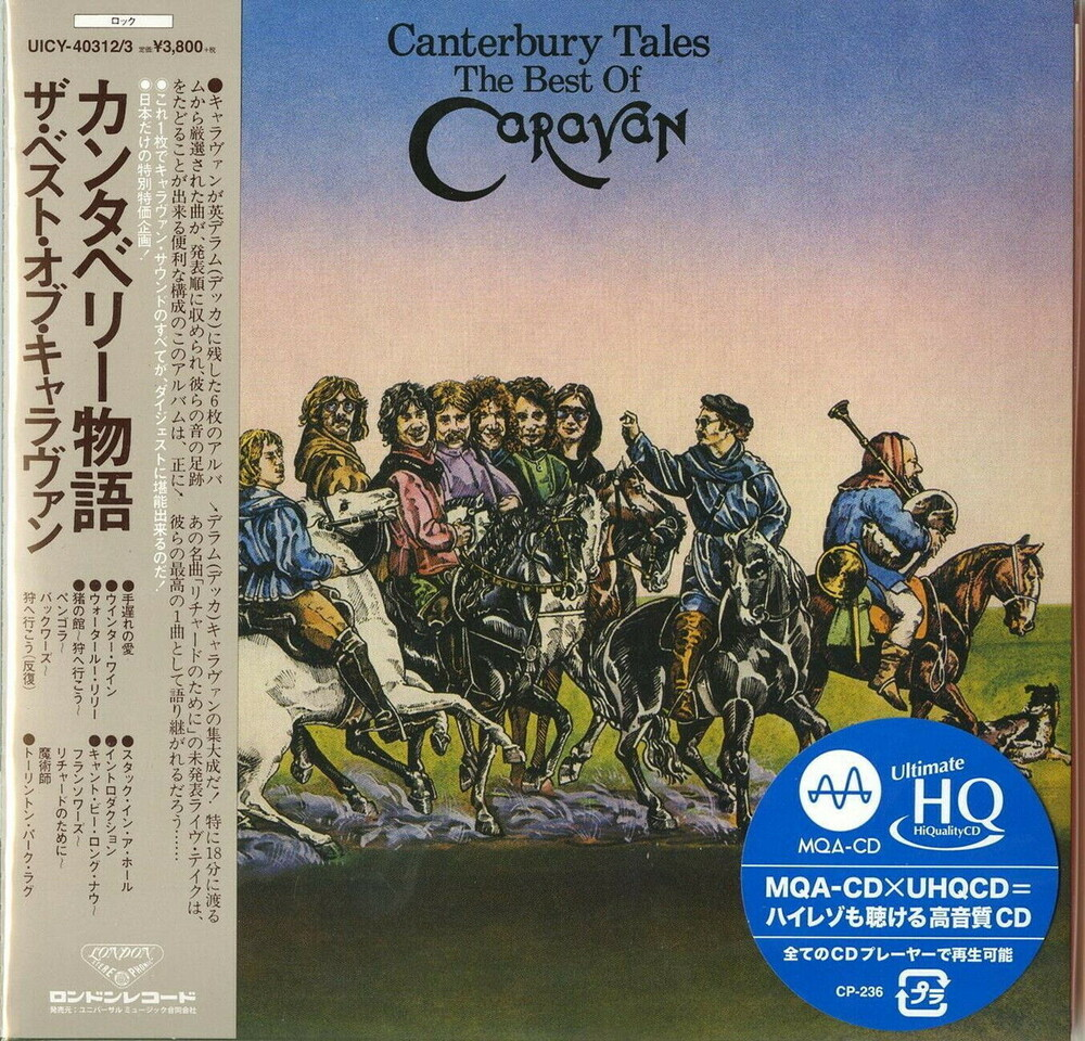 Caravan - Canterbury Tales (The Best Of Caravan) (Jmlp)