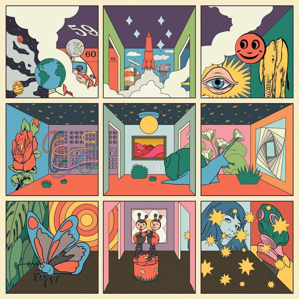 Starfucker (STRFKR) - Future Past Life [Opaque Orange LP]