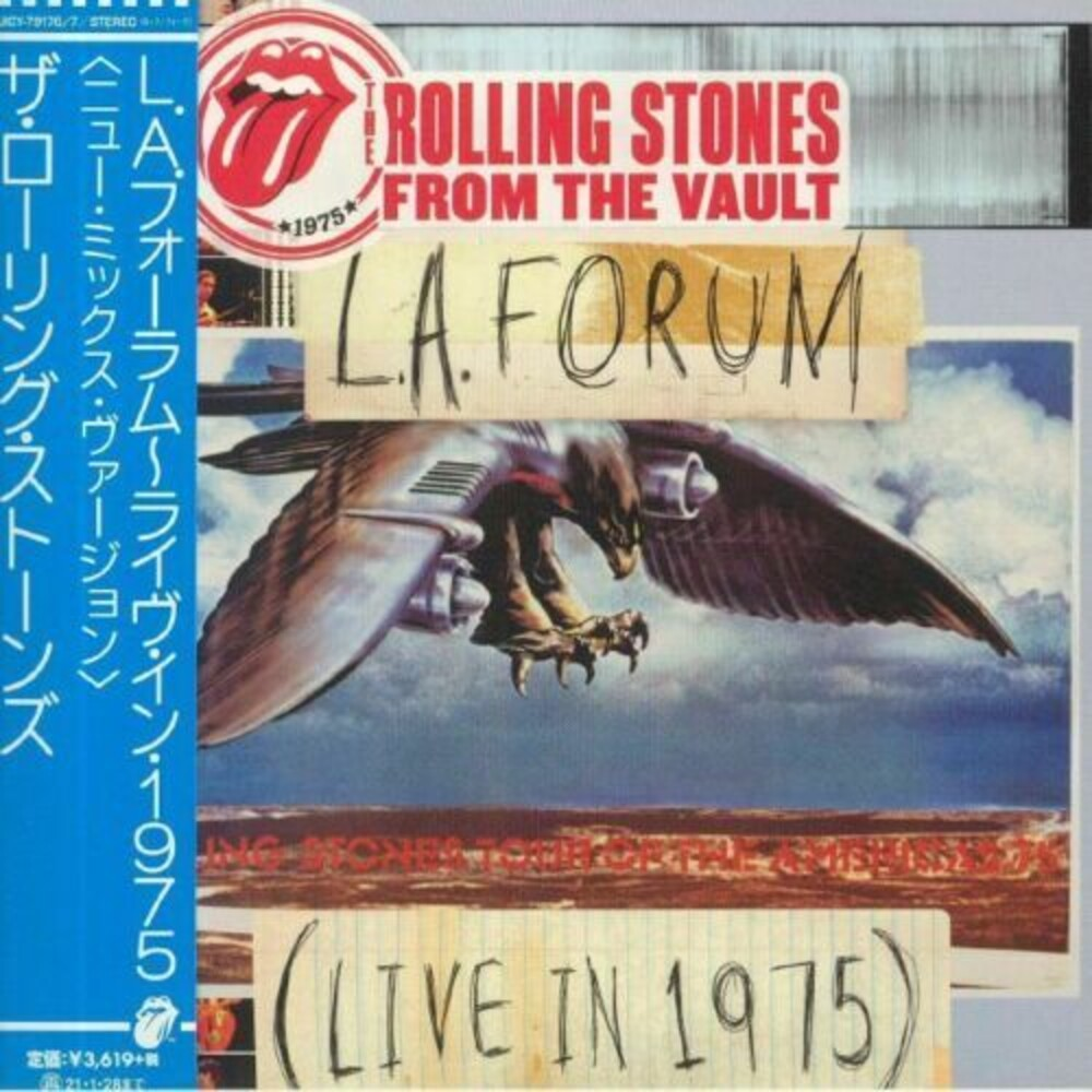 The Rolling Stones - From The Vault: L.A. Forum (Live In 1975) (New Mix Version) (SHM-CD /Paper Sleeve)