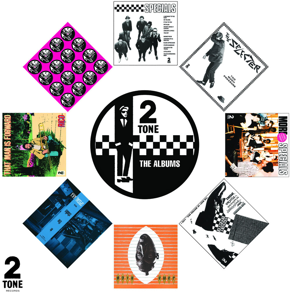 Various Artists - Two Tone - The Albums [8 CD Box Set]