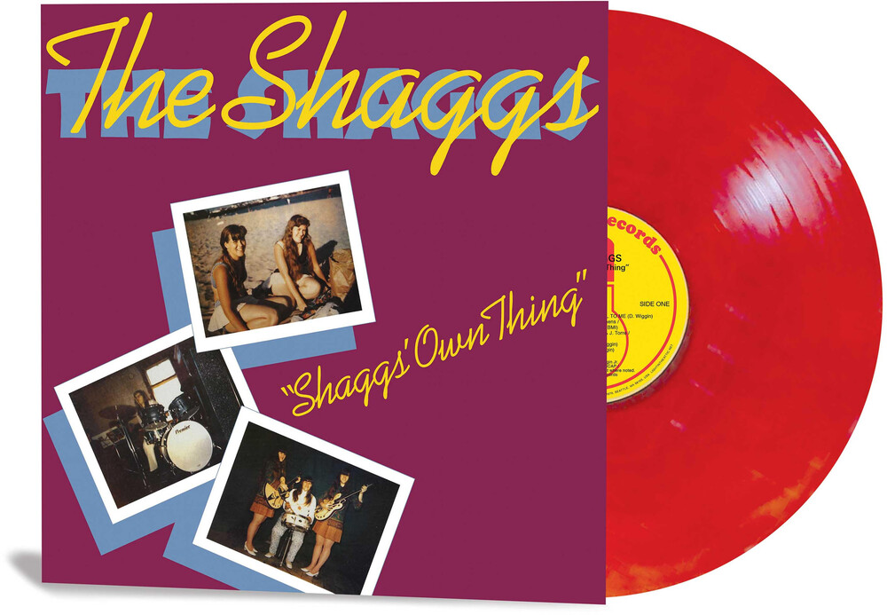 Shaggs - Shaggs' Own Thing [Indie Exclusive] (Red Galaxy Colored Vinyl)