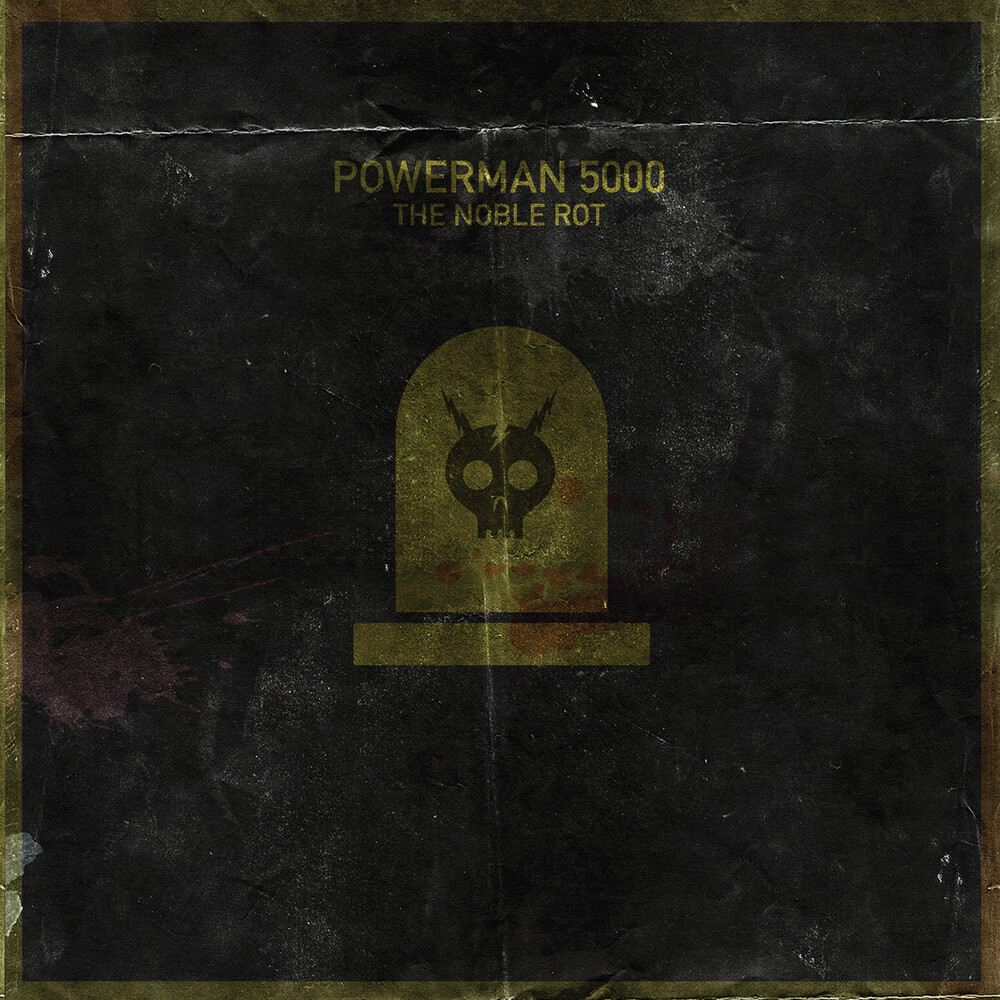 Powerman 5000 - The Noble Rot [Coke Bottle Green LP]