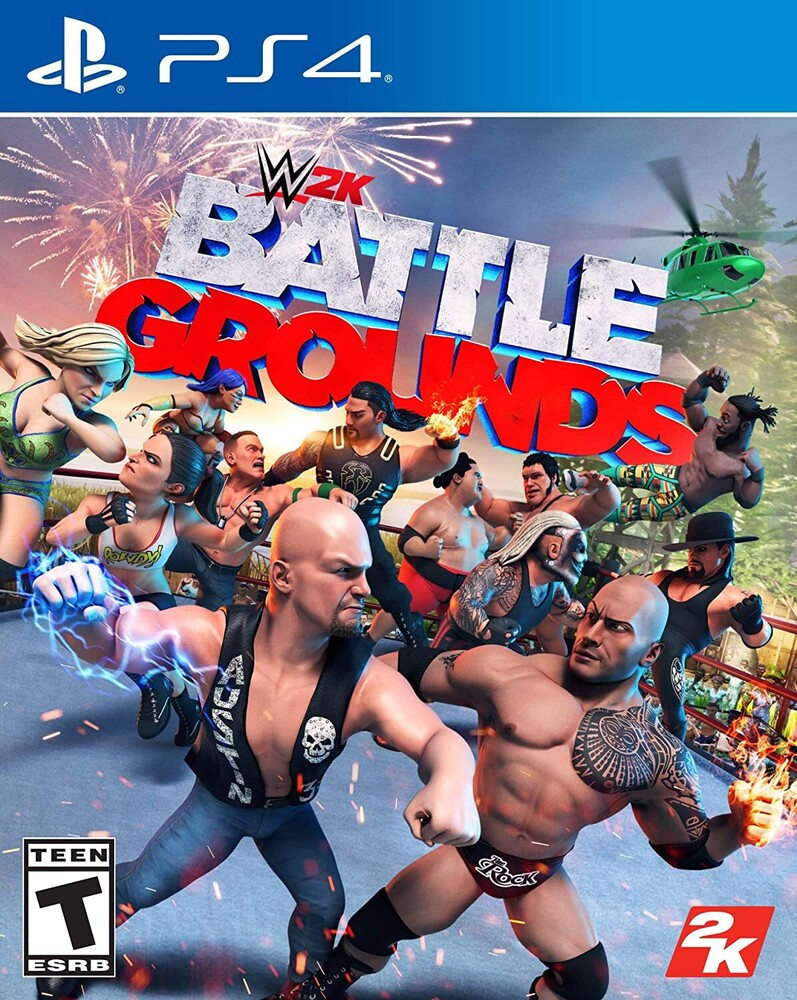 Ps4 WWE 2K Battlegrounds - WWE 2K Battlegrounds for PlayStation 4