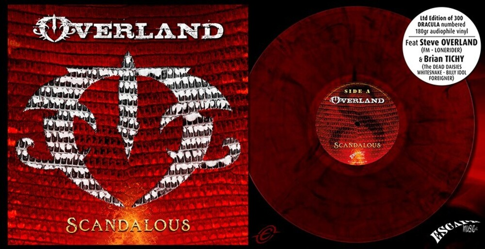 Overland - Scandalous (Dracula Red Vinyl)