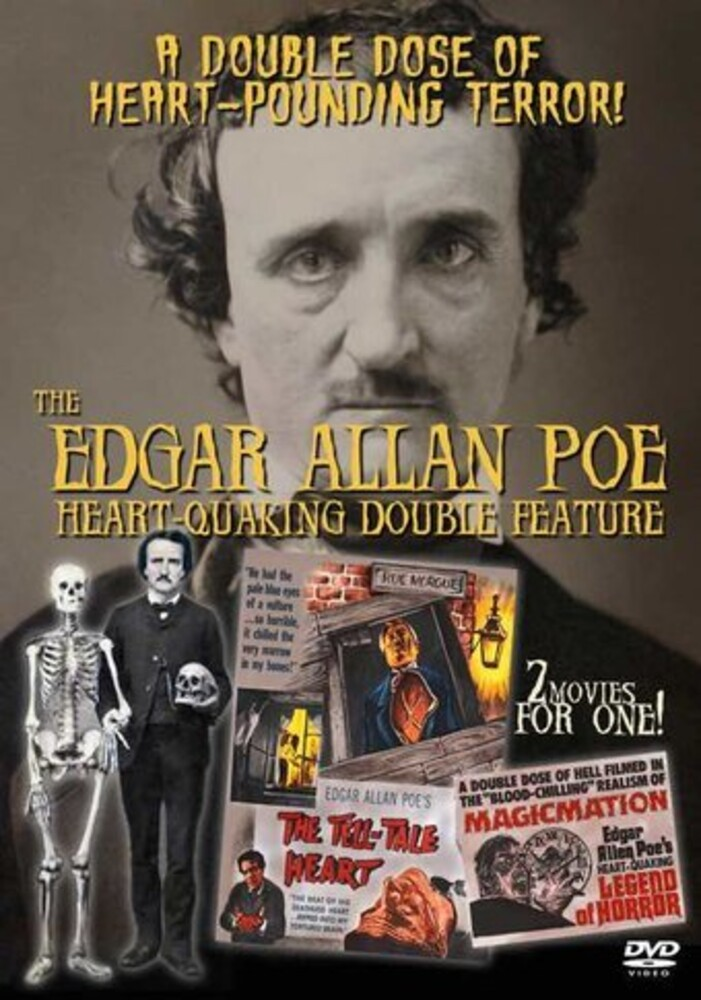Edgar Allan Poe: Heart-Quaking Double Feature - Edgar Allan Poe: Heart-Quaking Double Feature