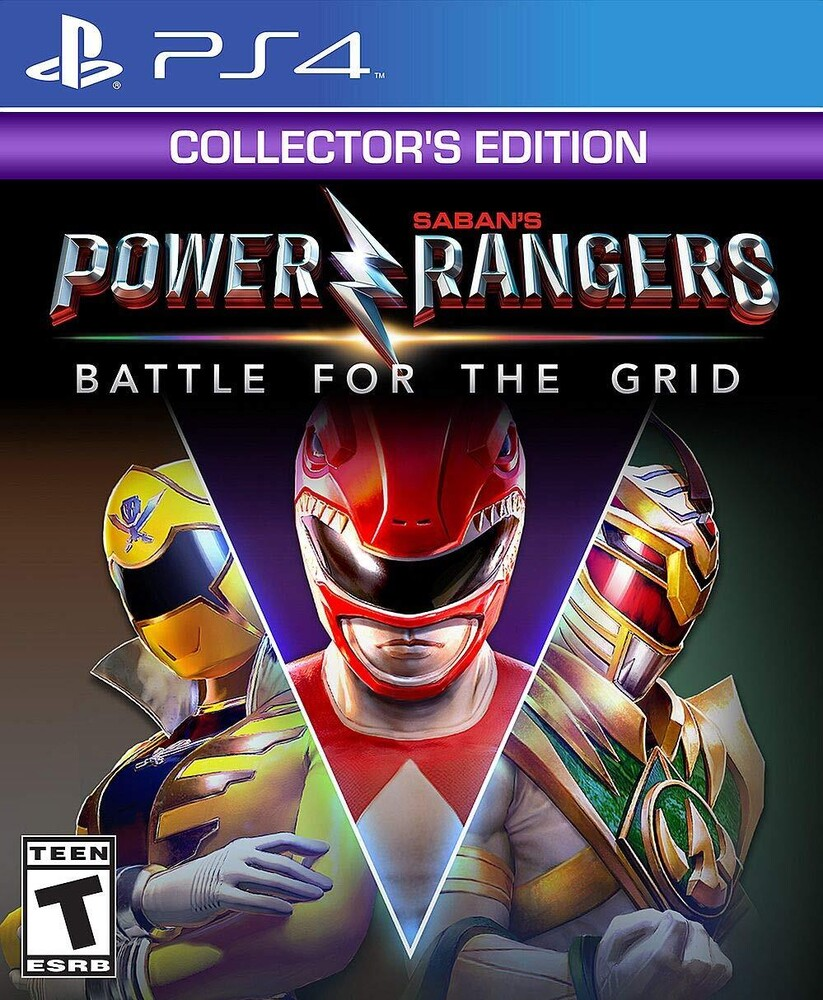 Ps4 Power Rangers: Battle for the Grid - Coll Ed - Power Rangers: Battle for the Grid - Collector's Edition for PlayStation 4