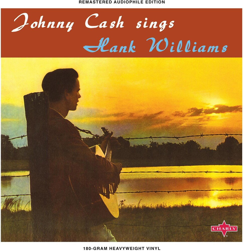 Johnny Cash - Sings Hank Williams & Other Favourite Tunes [Limited Edition Sunset Orange LP]