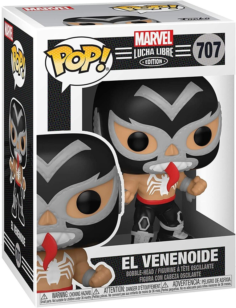 Funko Pop! Marvel: - FUNKO POP! MARVEL: Luchadores- Venom