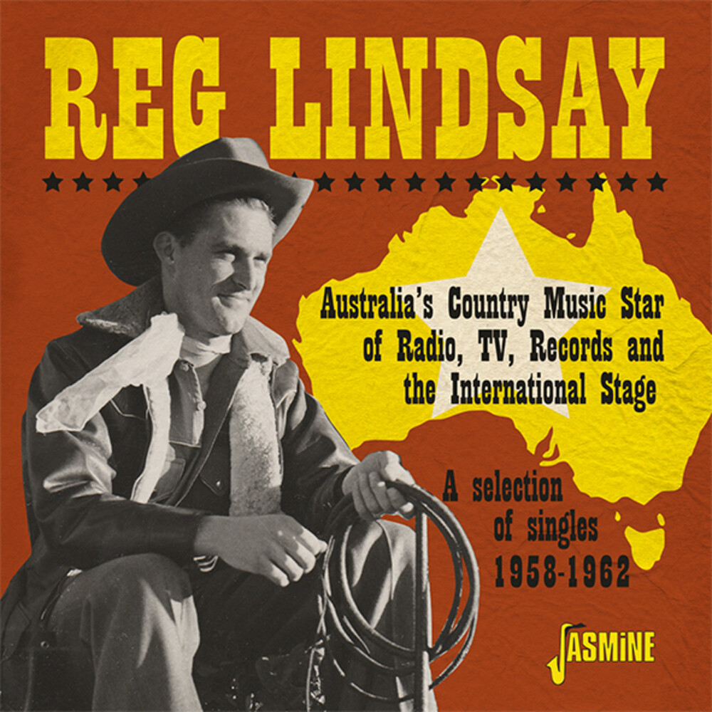 Reg Lindsay - Australia's Country Music Star Of Radio Tv Records