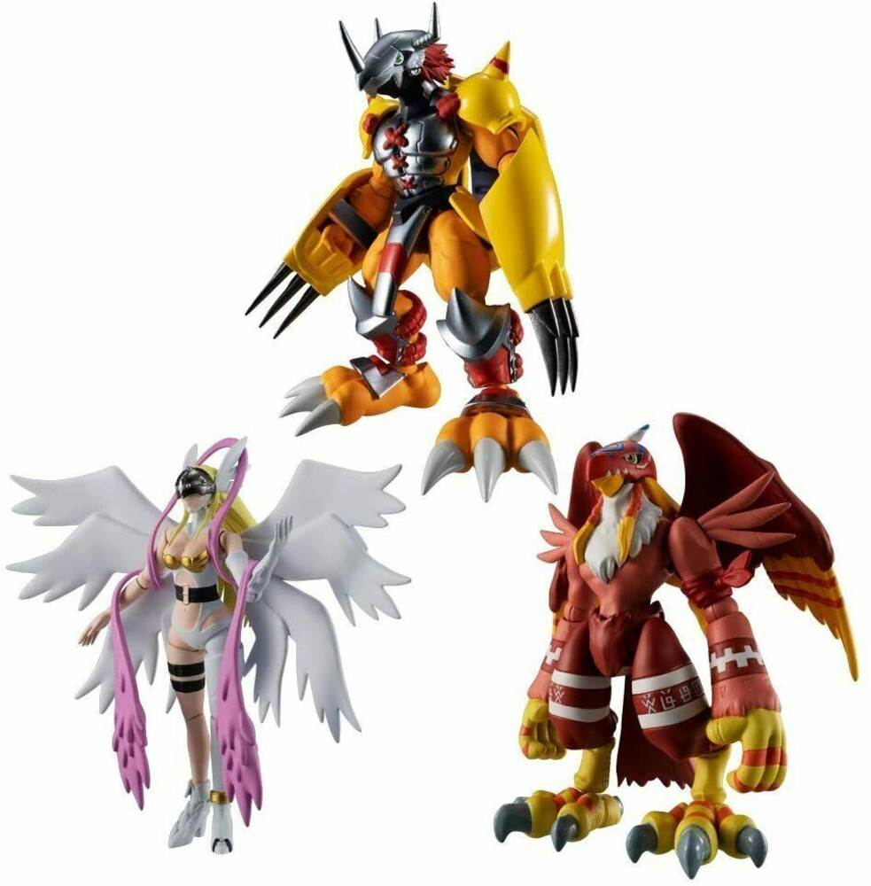 Bandai - Bandai - Digimon - Shodo Digimon Adventure 1 (Box of 6), Bandai Shokugan