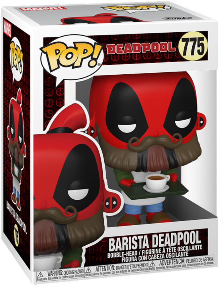 - FUNKO POP! MARVEL: Deadpool 30th- Coffee Barista