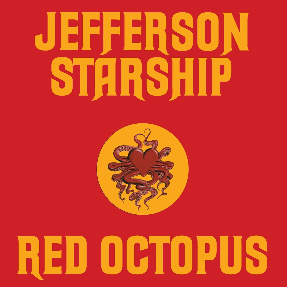 Jefferson Starship - Red Octopus (Audp) [Colored Vinyl] [180 Gram] (Red) (Aniv)
