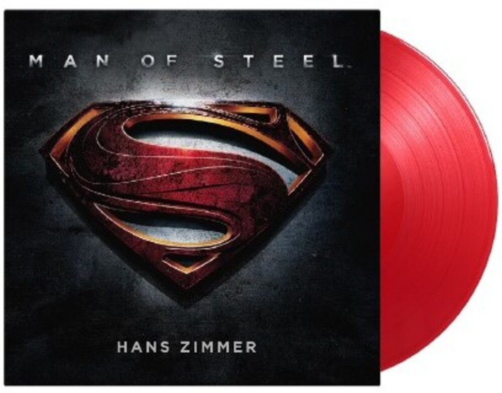 Hans Zimmer Colv Gate Ltd Ogv Red Hol - Man Of Steel (Original Soundtrack) [Limited Gatefold, 180-Gram Translucent Red Colored Vinyl]