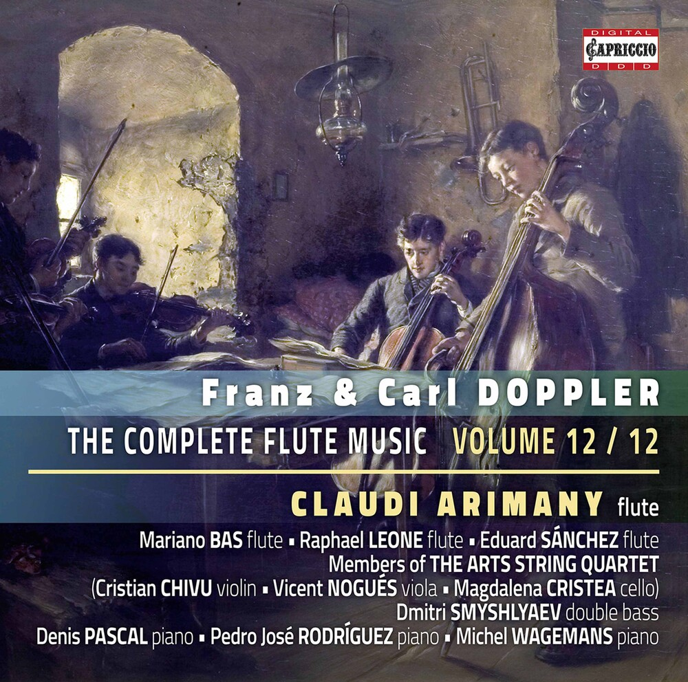 Claudi Arimany - Complete Flute Music 12 / Various