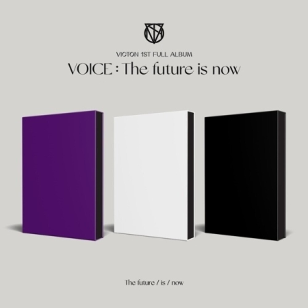 Victon - Voice: The Future is Now (incl. 84pg Photobook, 24pg Lyrics Book, Bookmark, Mini Pop-Up Book, Photocard, Voice Photo Card + Phot