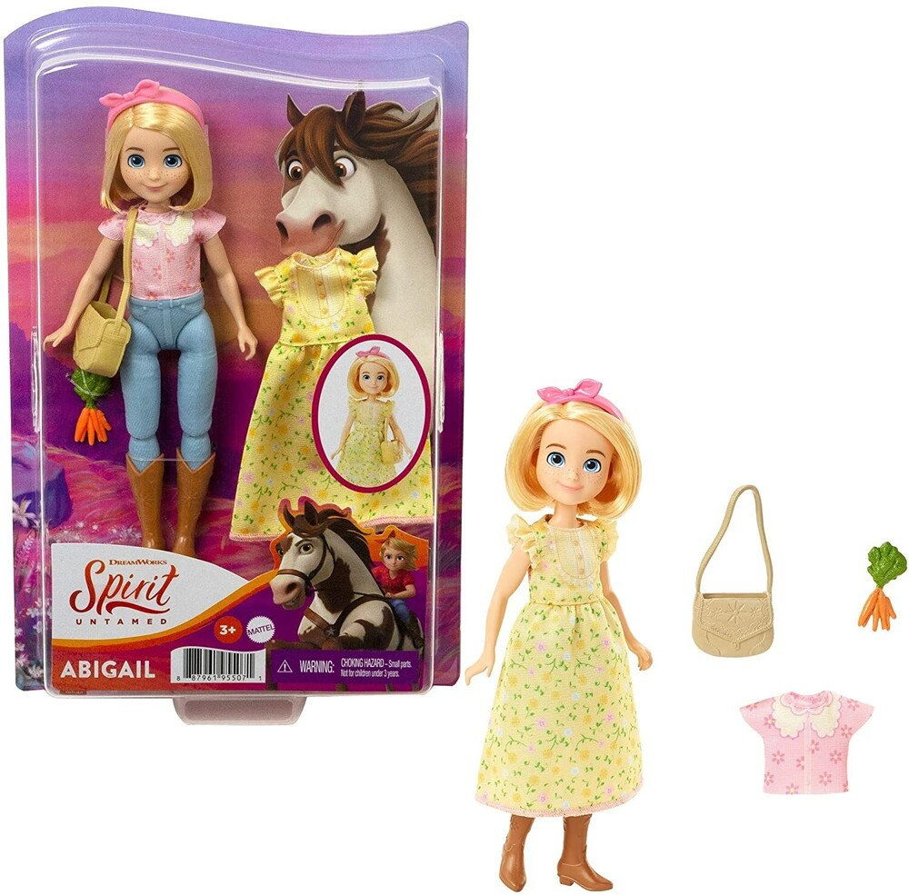 Spirit - Mattel - Spirit Happy Trails Abigail
