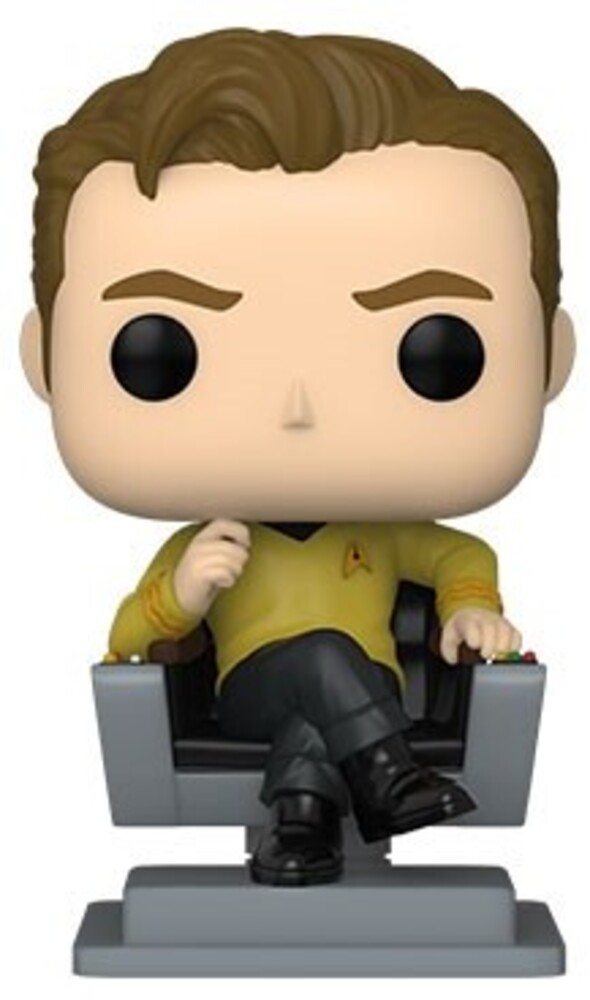 - Star Trek- Cap Kirk In Chair (Vfig)