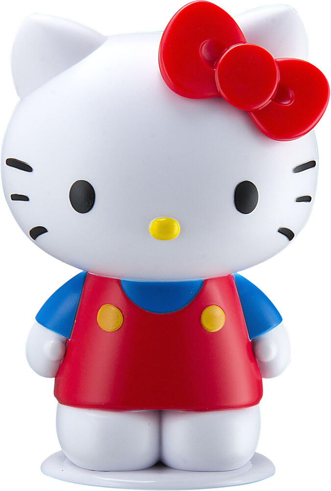 Hello Kitty Si-B66Hy.Exv0 Bt Speaker White/Red - Hello Kitty SI-B66HY.EXV0 Bluetooth Wireless Speaker Kitty Shaped with Rechargeable Battery (White/Red)