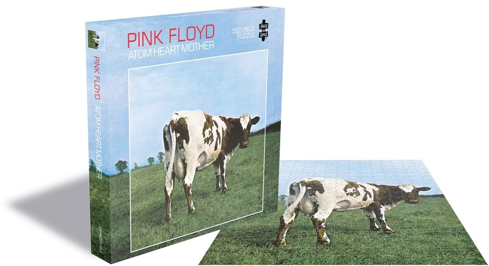 Pink Floyd Atom Heart Mother (500 Piece Puzzle) - Pink Floyd Atom Heart Mother (500 Piece Puzzle)