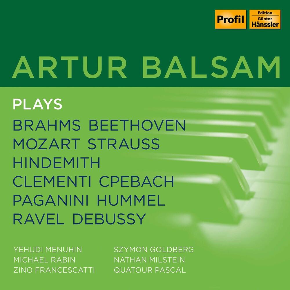 Artur Balsam Plays / Various (Box) - Artur Balsam Plays