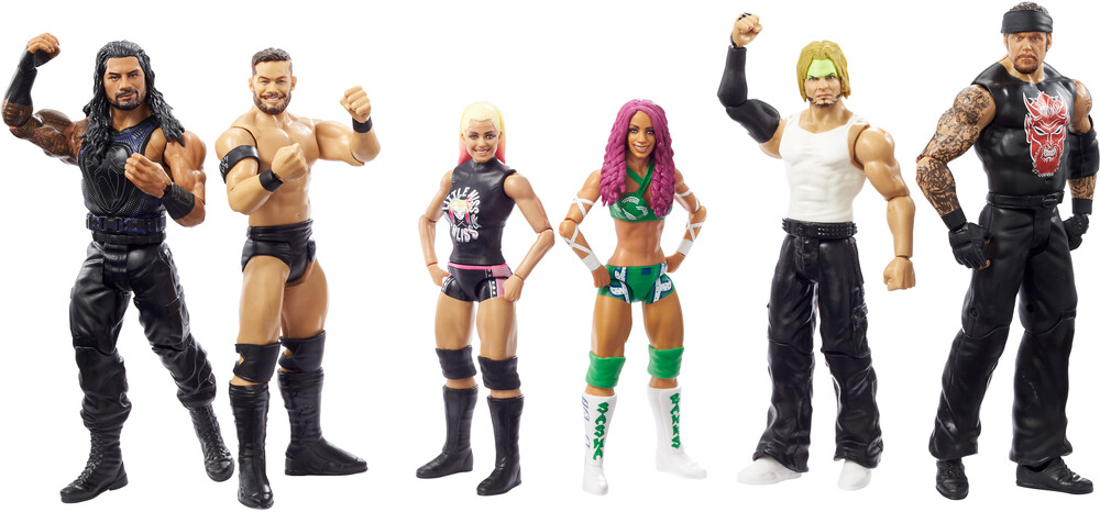 WWE - Mattel Collectible - WWE Basic Figures Battle Packs Assortment